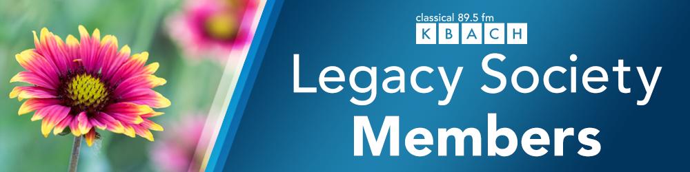 KBACH Legacy Society Members