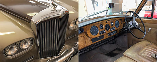 Classic Bentley car donated to KBACH