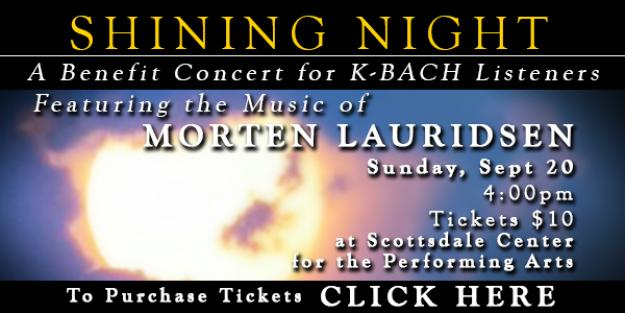 Shining Night Benefit for K-BACH Listeners
