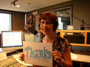 Janine thanks listeners for the birthday wishes, and for 20 years of support!